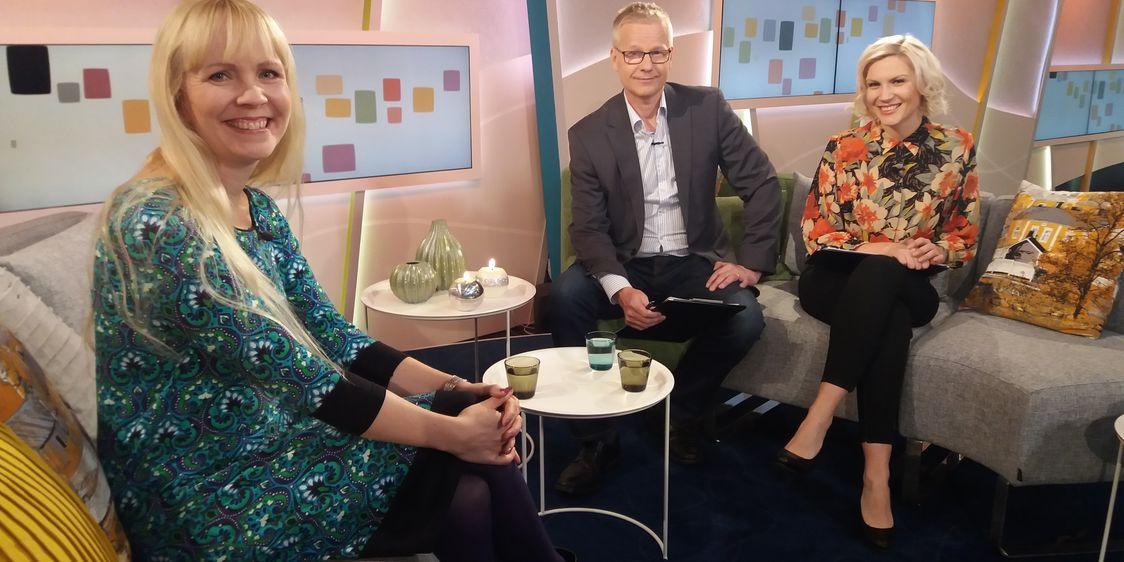 Leena Marsio Huomenta Suomi ohjelmassa