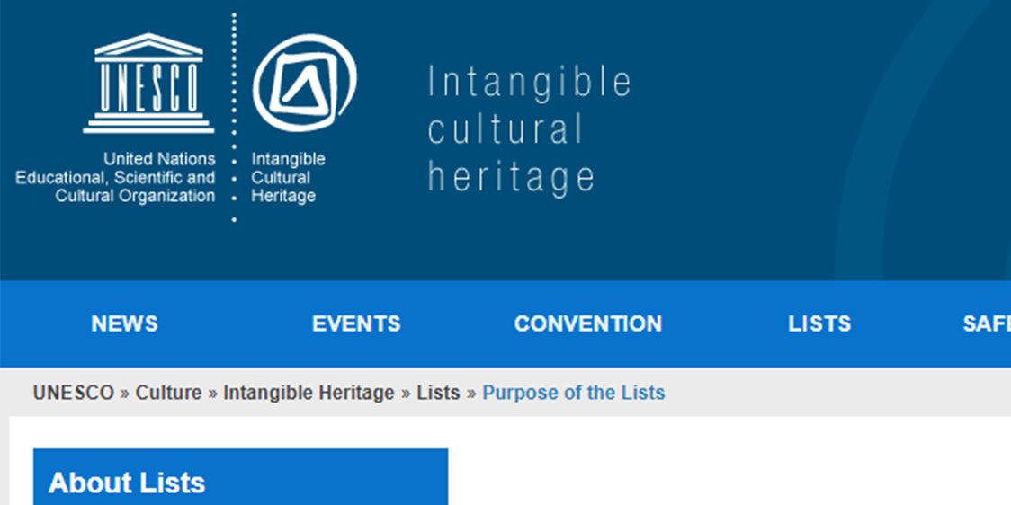 Unescon nettisivut